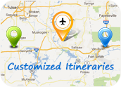 Customized Itineraries